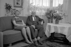 """Text till bilden: """"Karl Rickard Svensson """"Röllo"""" med fru"""". S"""
