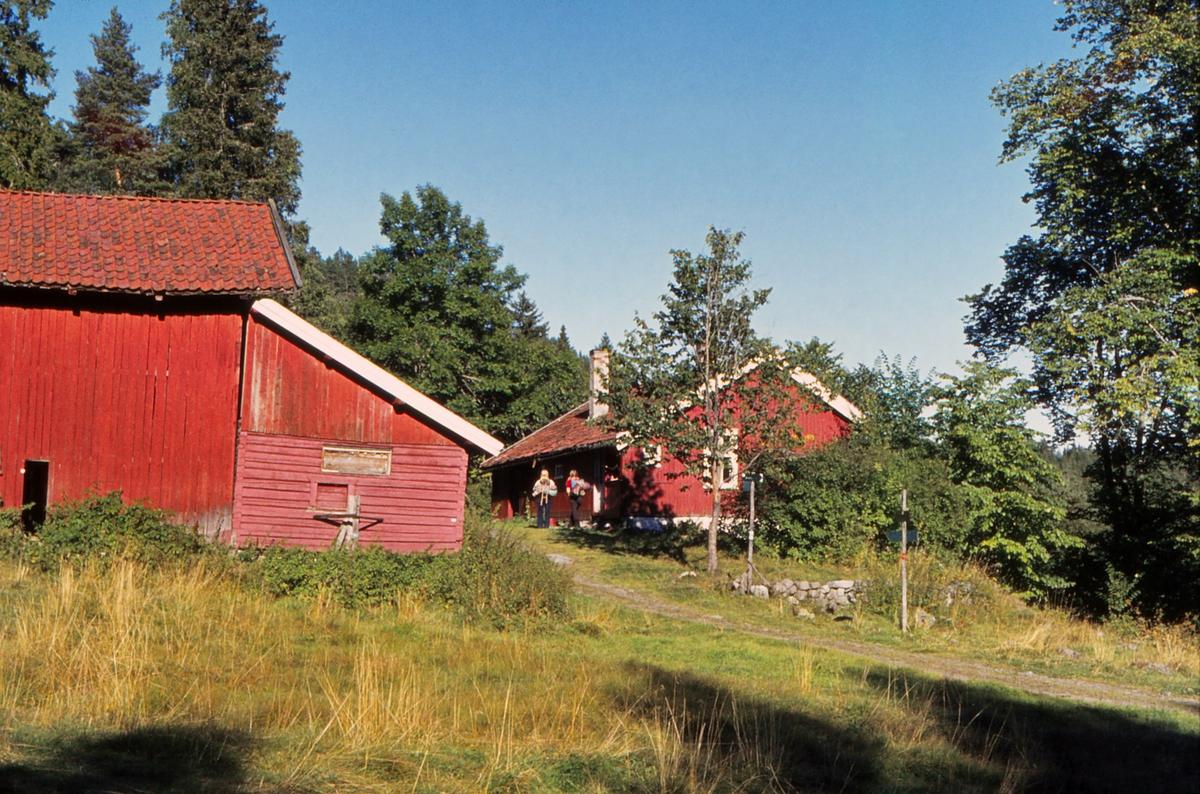 Muren. Bærumsmarka. Dette var et populært serveringssted og mål for turer sommer som vinter i mange år.