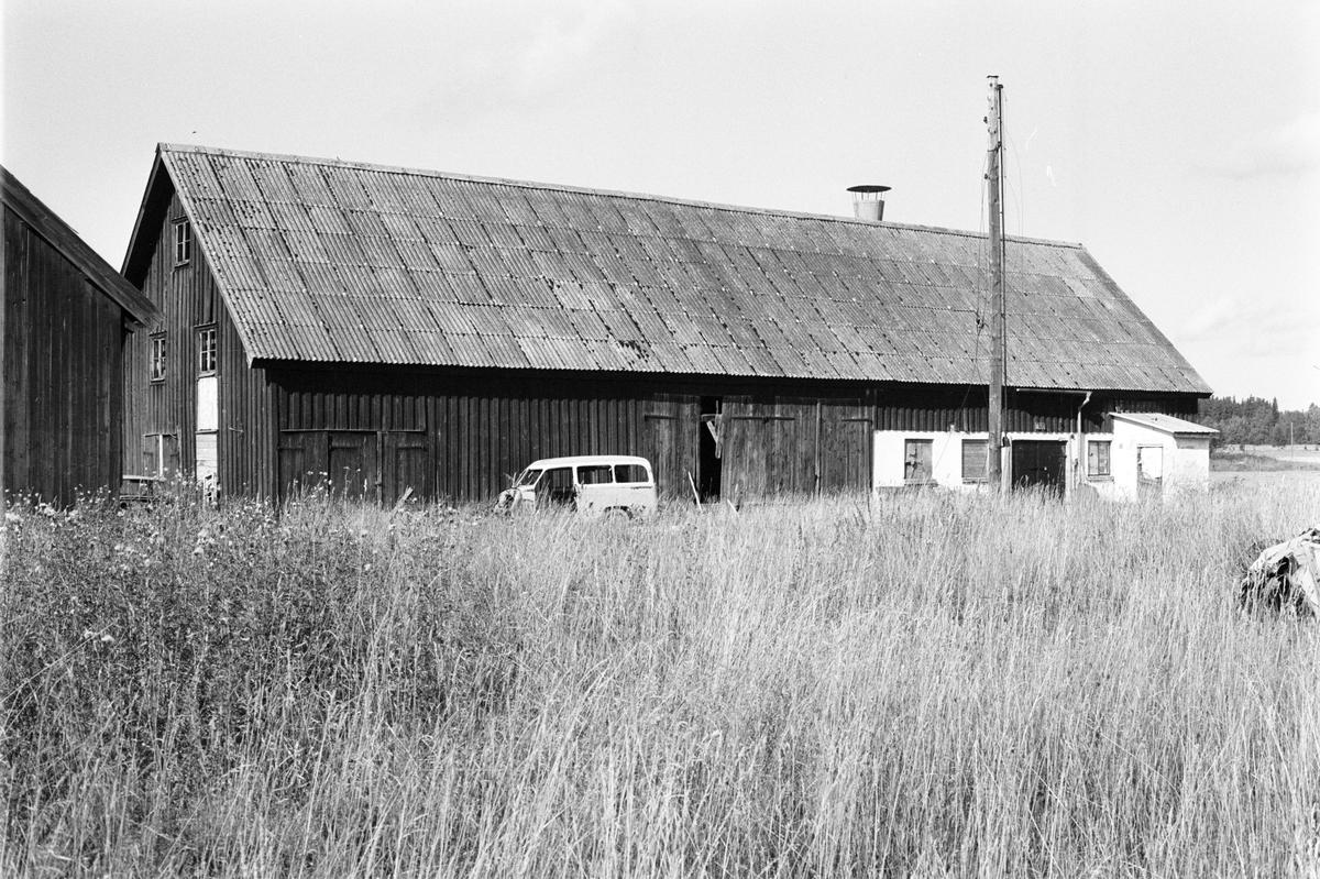 Loge och ladugård, Klivinge 7:1, Körlinge, Rasbokils socken, Uppland 1982