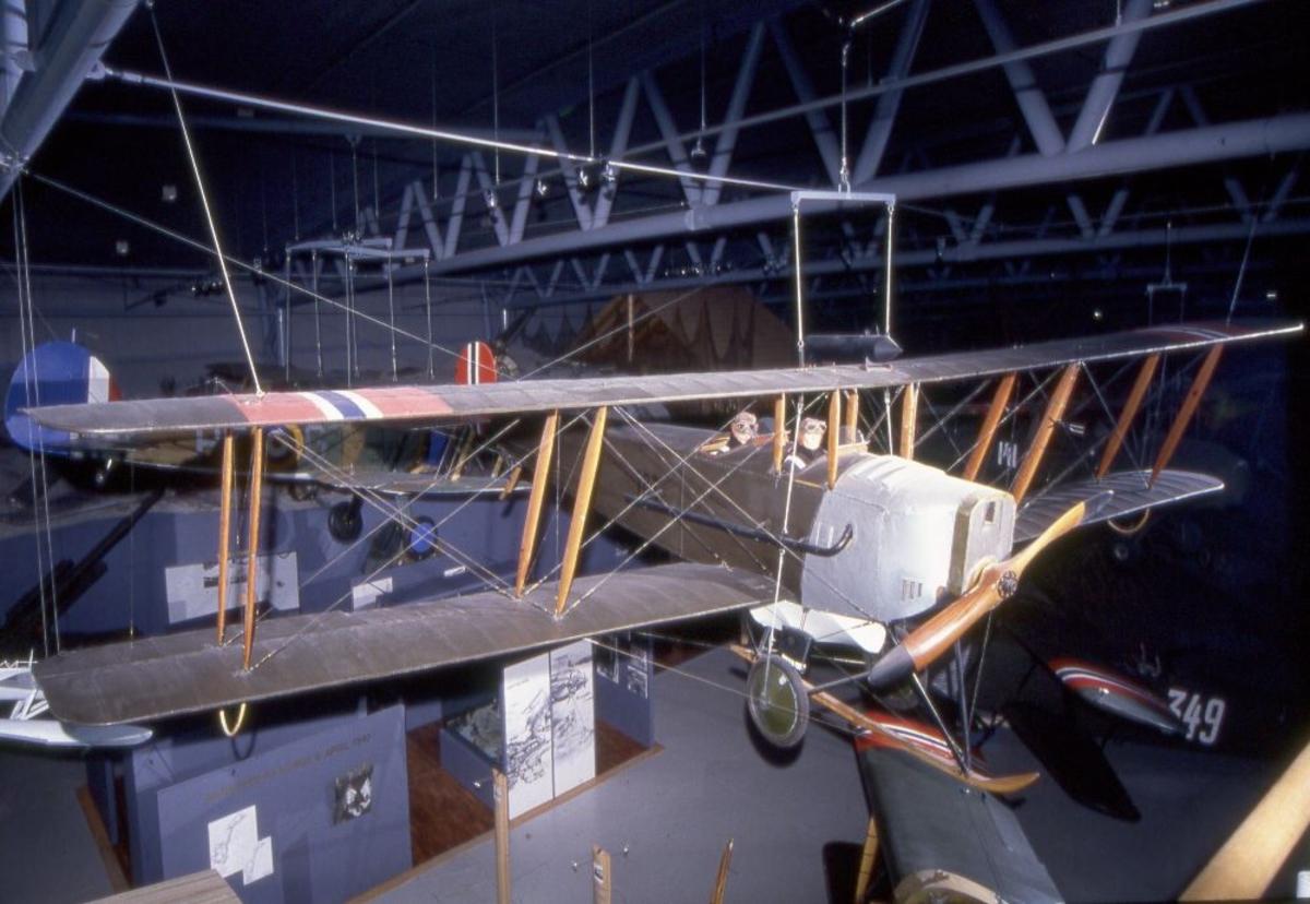 Ett fly: Avro 594 Avian