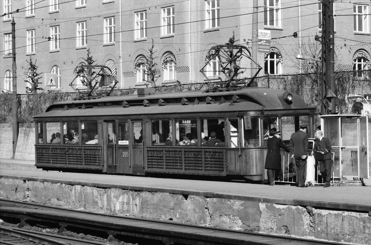 A/S Holmenkolbanen. vogn 205, type 1934 (Skabo, NEBB).