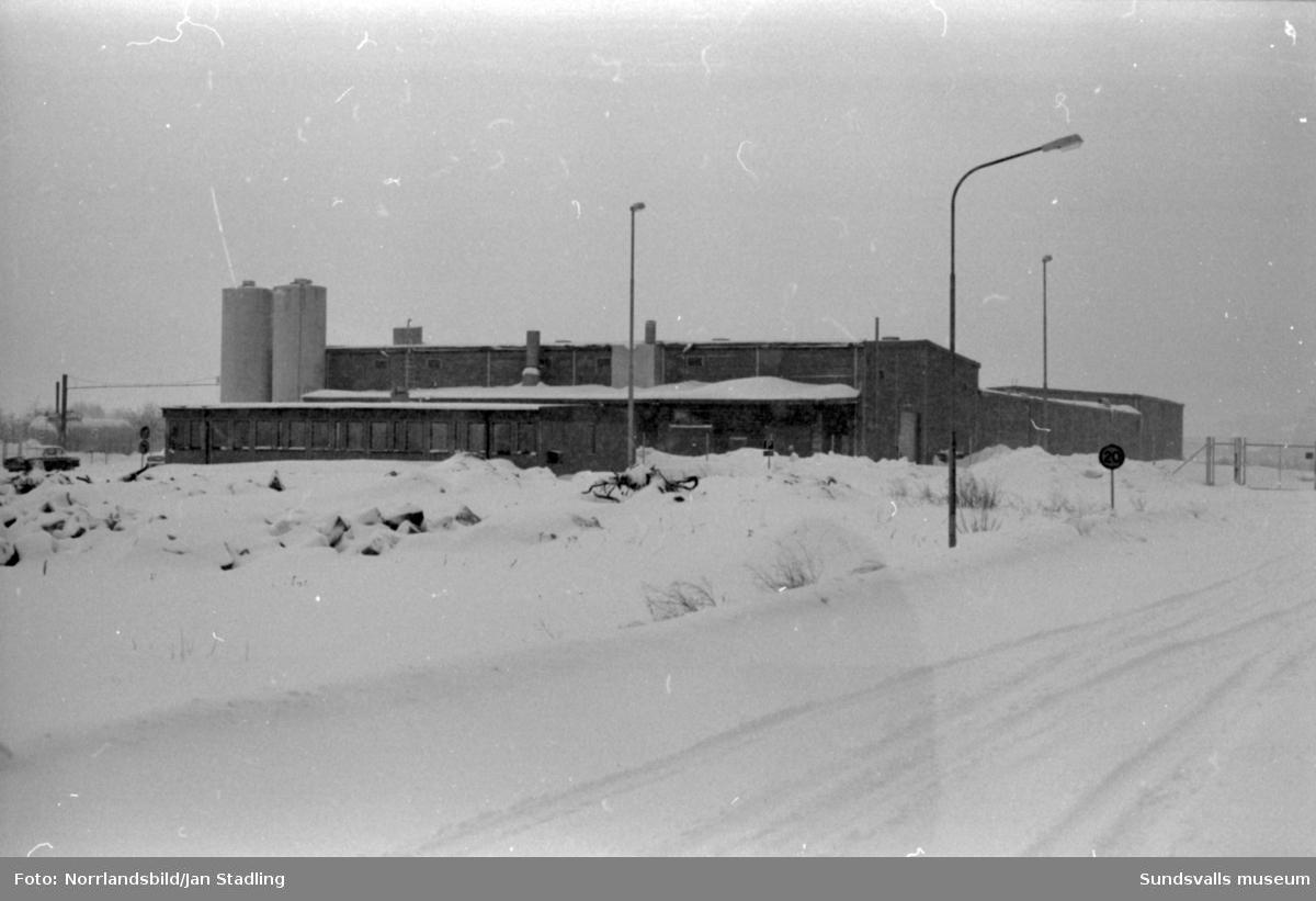 Svartviks sulfitfabrik.