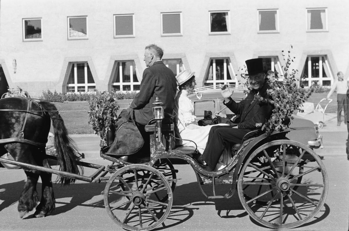 Glomdalsbruden. Opptog. Ca. 1965. Leiret, Elverum.