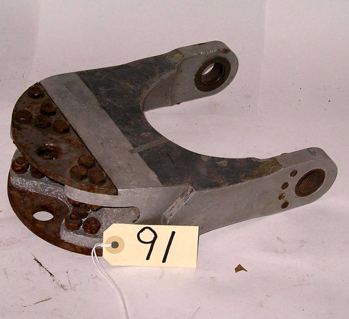 Halehjuls gaffel