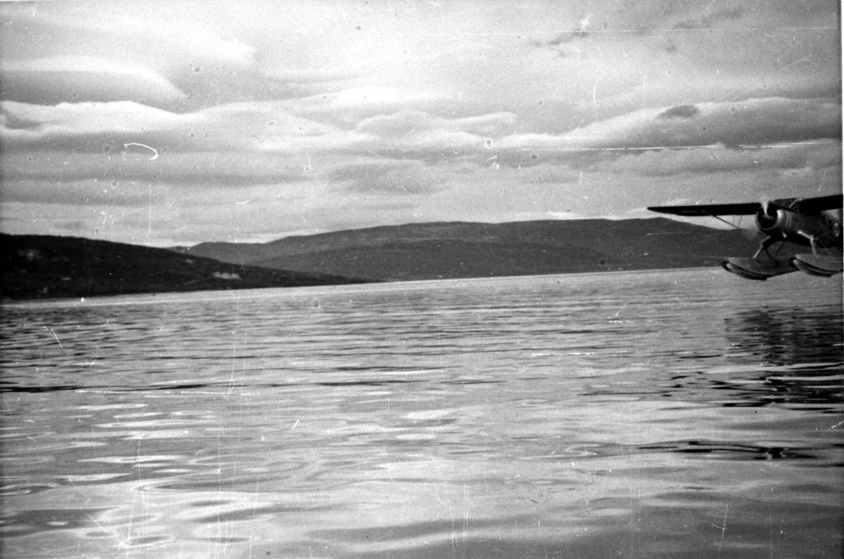 1 fly, Norsemann (R-A?), lander på havet.
