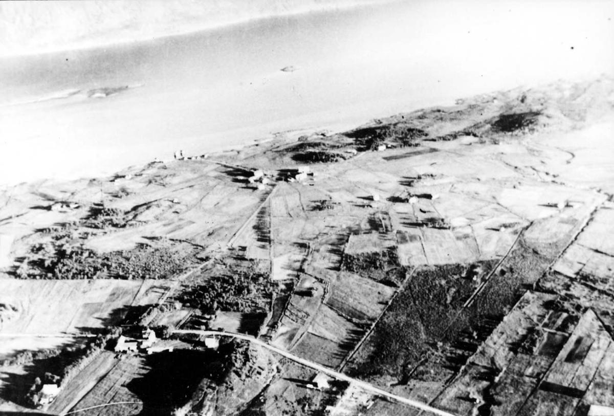 Luftfoto av landskapsområde - jordbruksområde