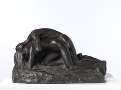 De nedbøyde II [Statuettgruppe]