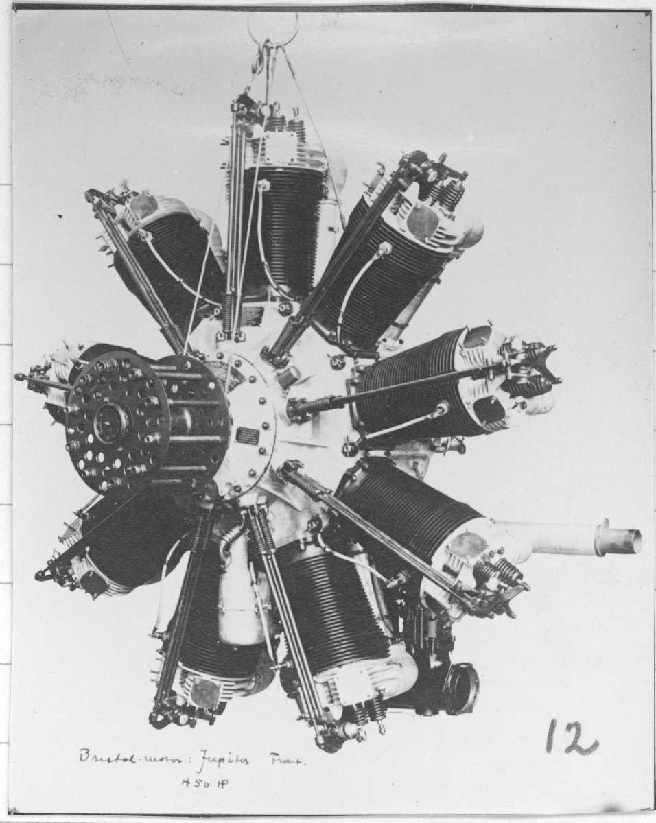 Flymotor. Bristol Jupiter.