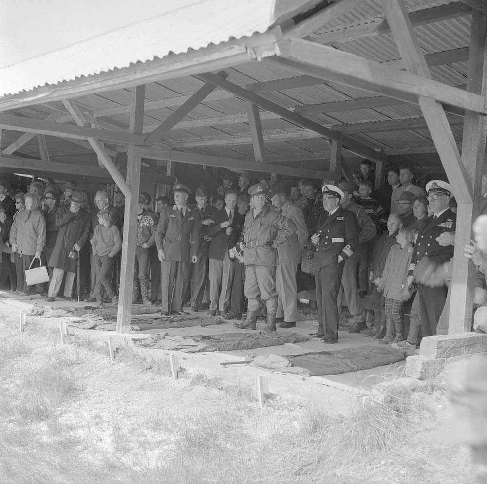 Åpningen av Landsskytterstevnet på Bestemorenga i 1966.