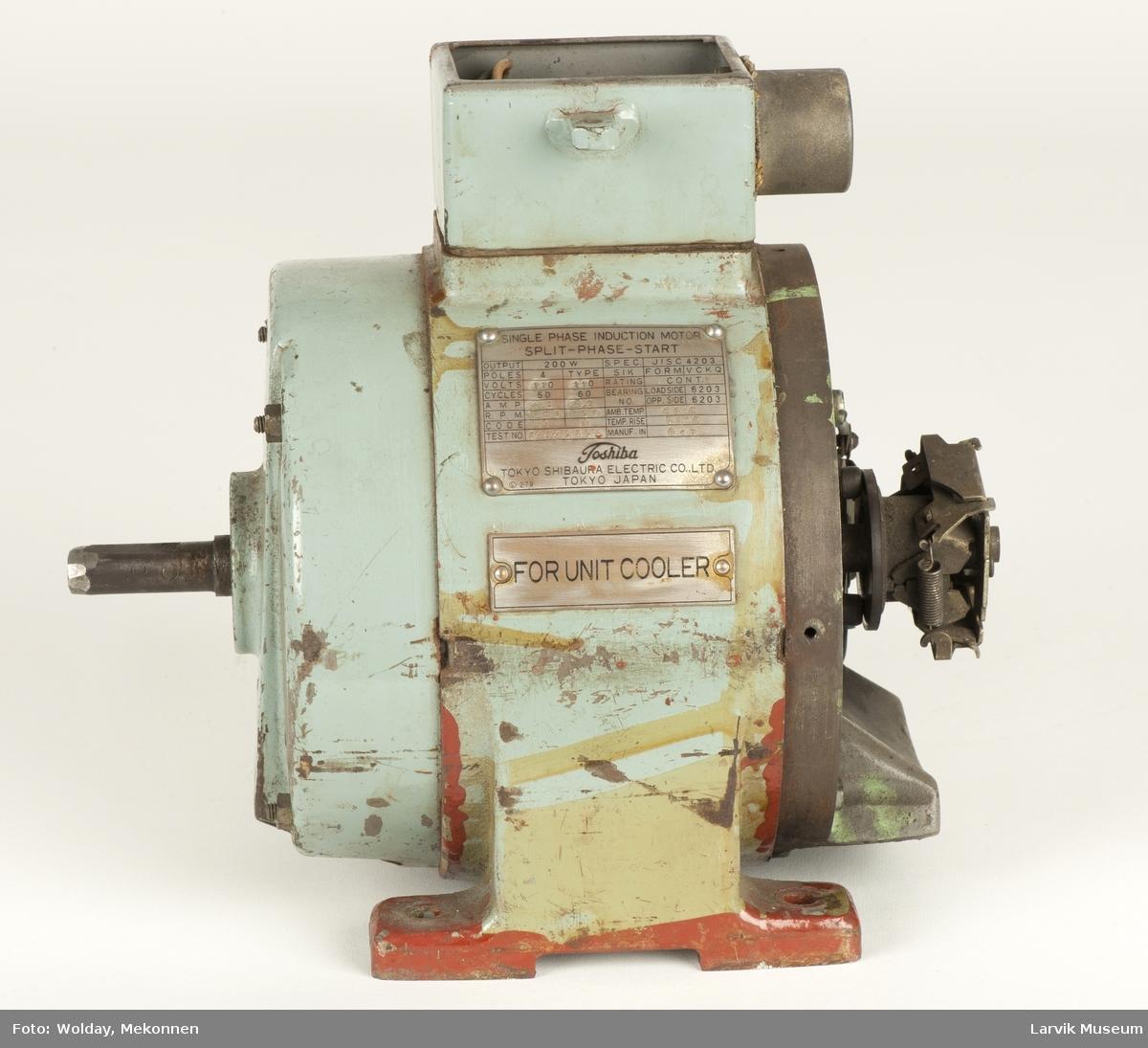 2 stk. elektromotorer