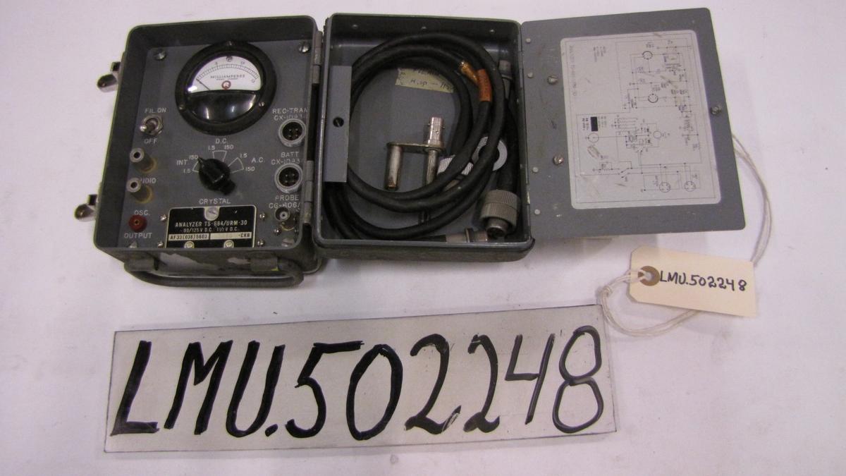 Radio teste utstyr.