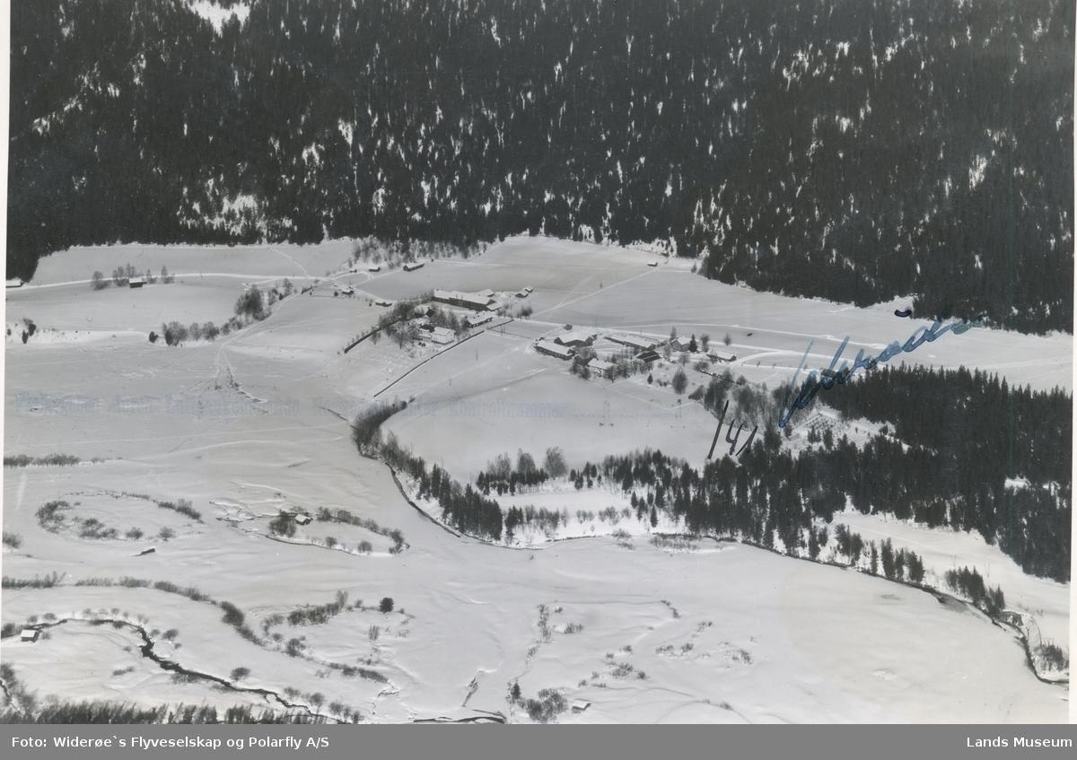 Flyfoto Begnadalen ved Sørum