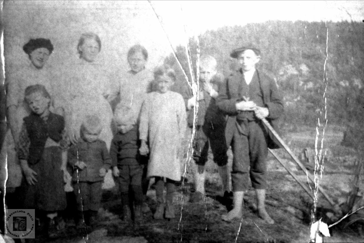 Barn på Finsådal