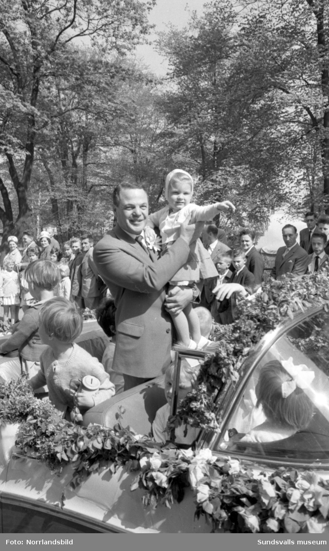Barnens Dag-paraden i Sundsvall.