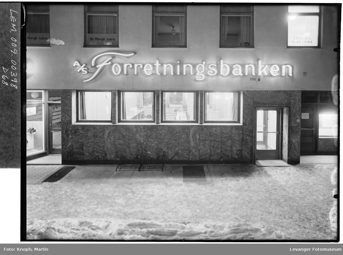 Forretningsbanken på Steinkjer.