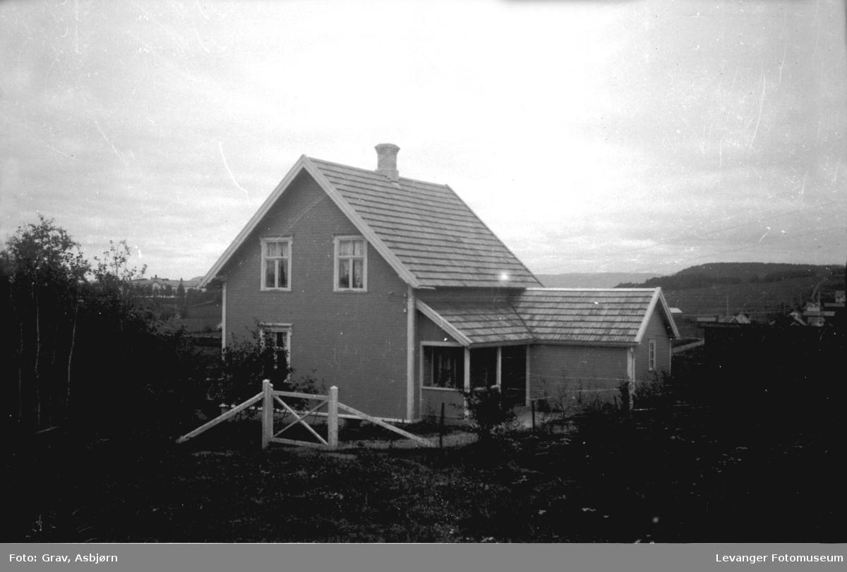 Hus/eiendom, bak til v. Bakketun.