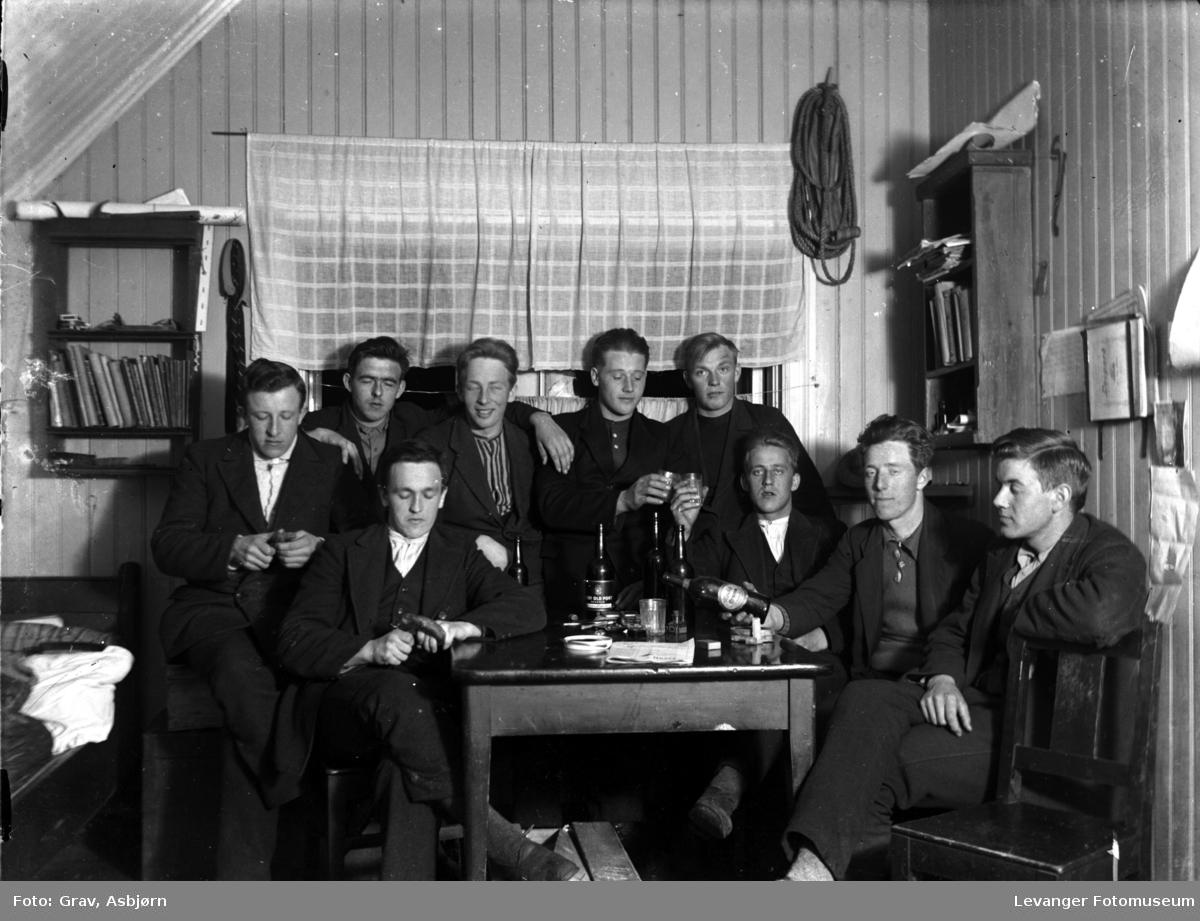 Gruppebilde, mærestudenter 1924-26