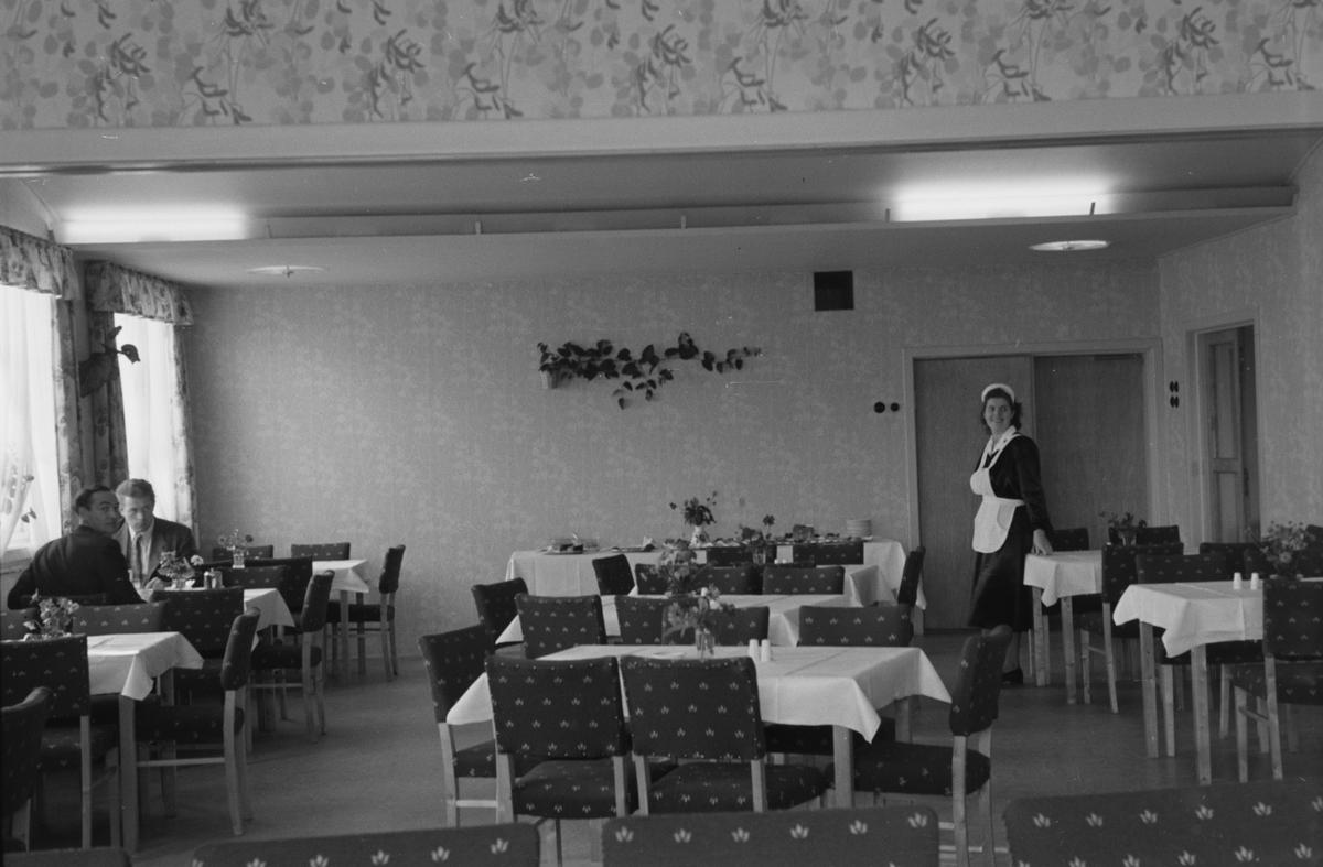 Hotel Central, Elverum. Interiør.