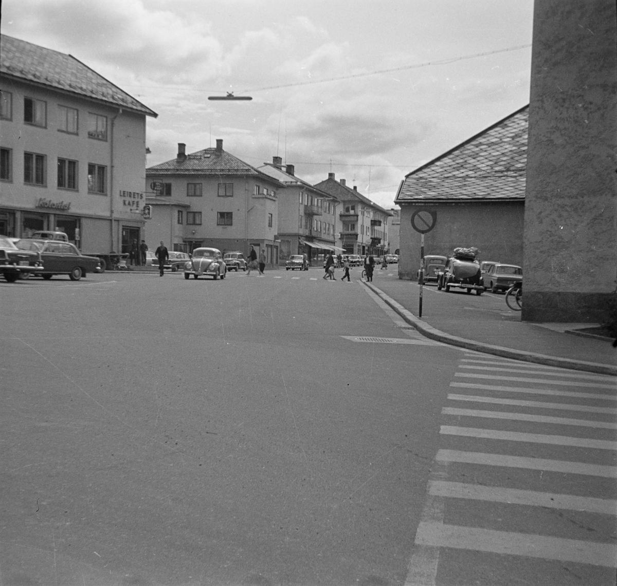 St. Olavs gate. Leiret, Elverum.