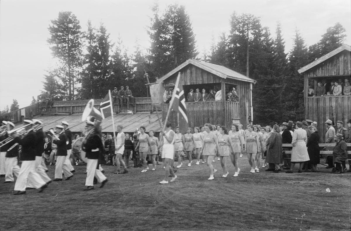 Turnstevne på Fylkesidrettsplassen(Fylken), Elverum.