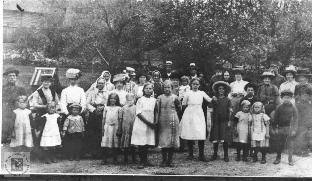 Birøkterkurs Øyslebø 1914