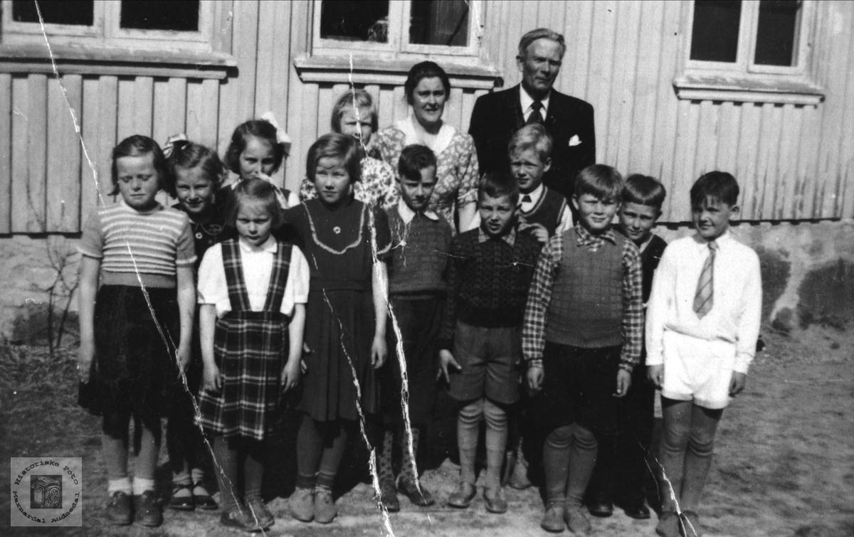 Skoleklasse Breland