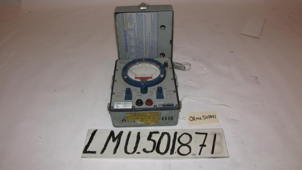 Måleinstrument elektro