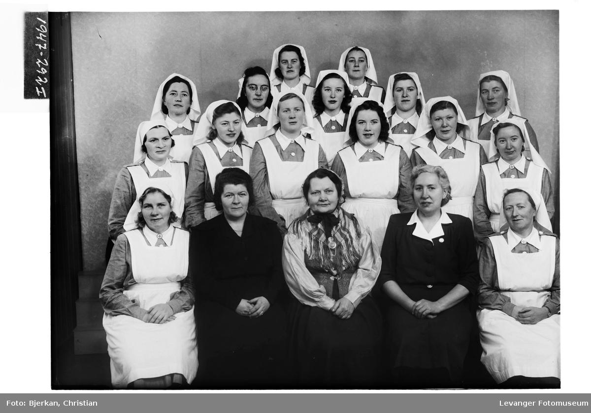 Gunda Skjerve med elever