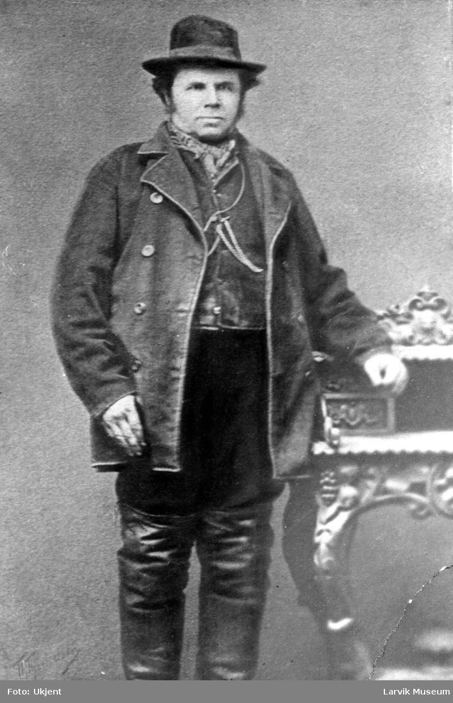 Portrett av Anders Jacob Johansen, kjent som Ulabrand.