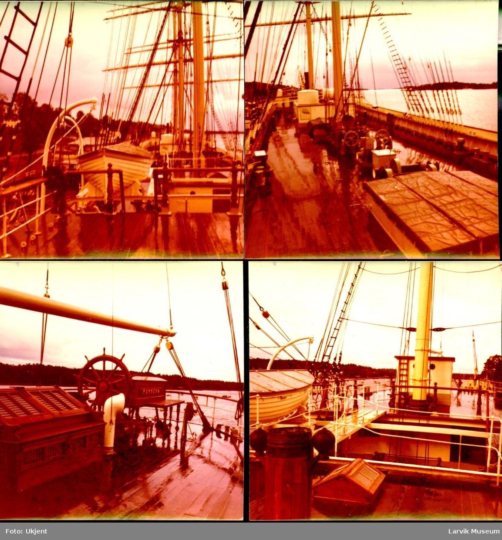 """fartøy, seilskip, """"Pommern"""" av Åland"""