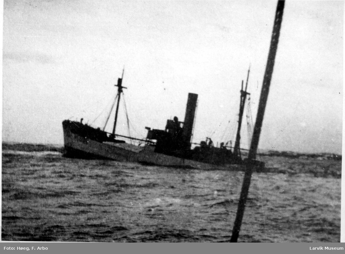 """fartøy, dampskip D/S """"Spero"""""""