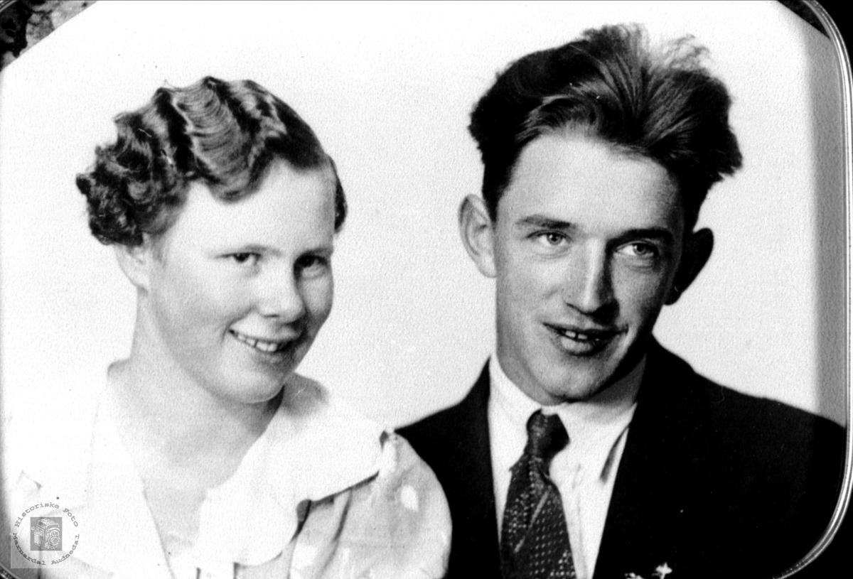 Ekteparet Astrid og Ansgard Monge