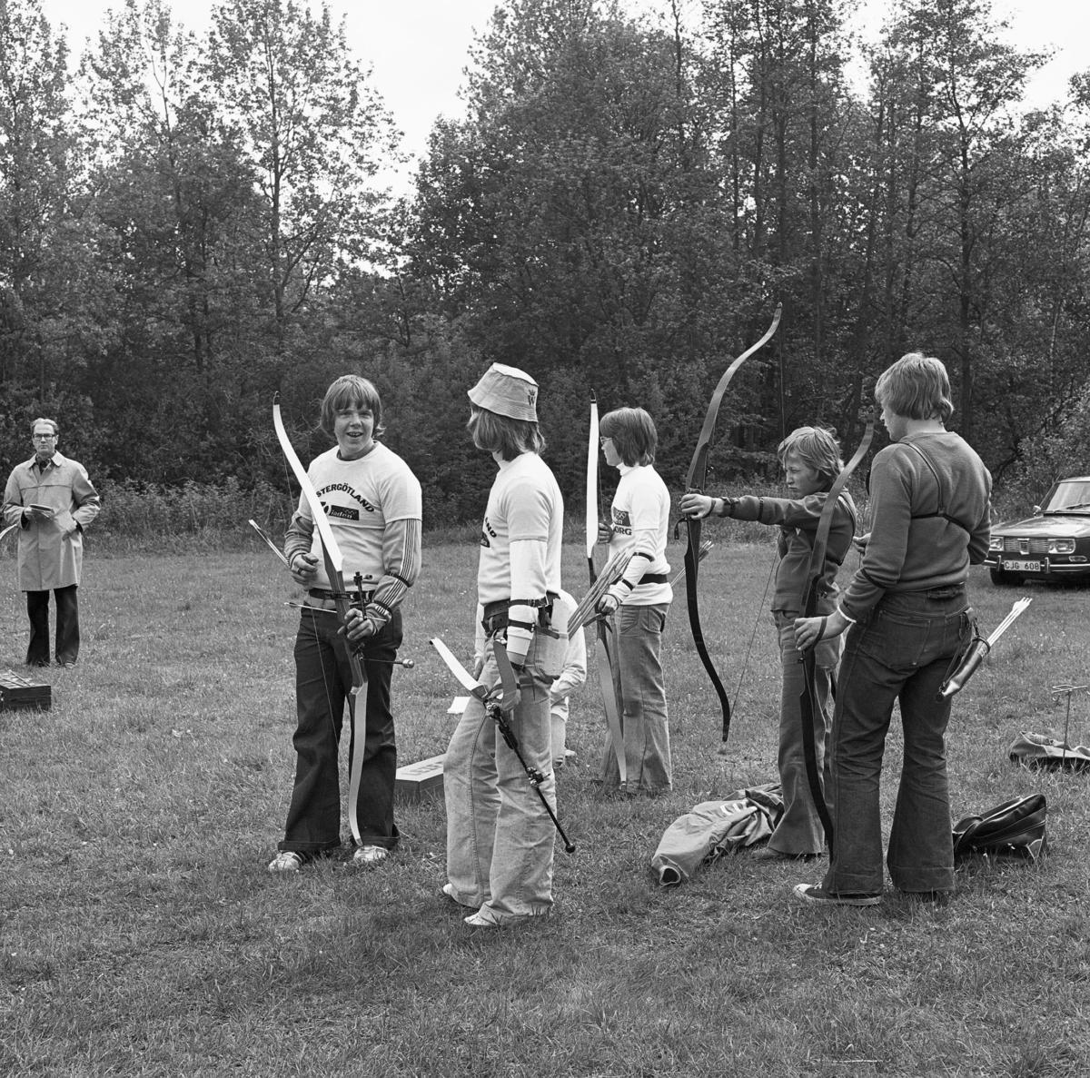 Regionsfinaler 70-iaden. 31 maj - 1 juni 1975. [Bågskytte]