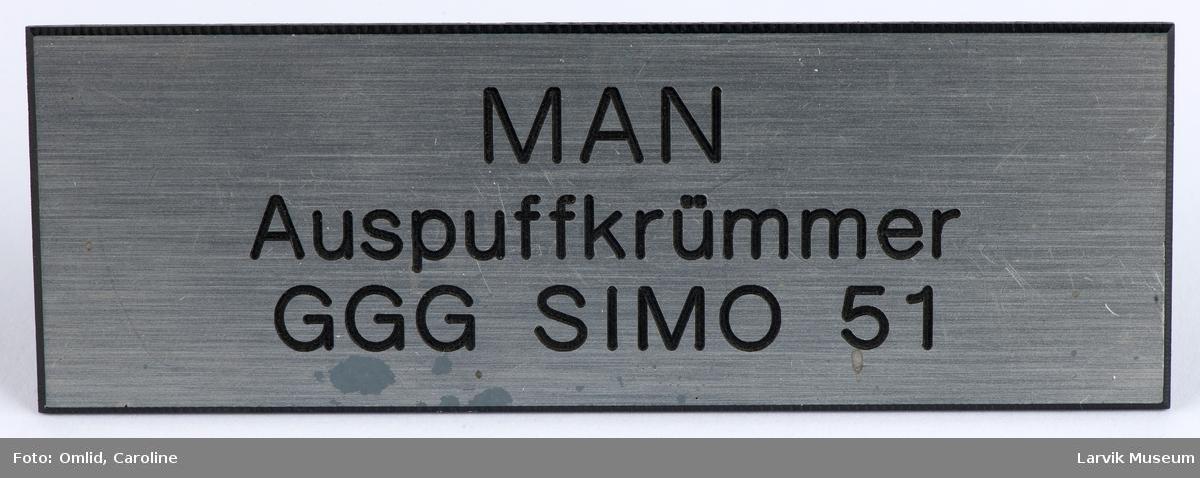 MAN Auspuffkrümmer GGG SIMO 51