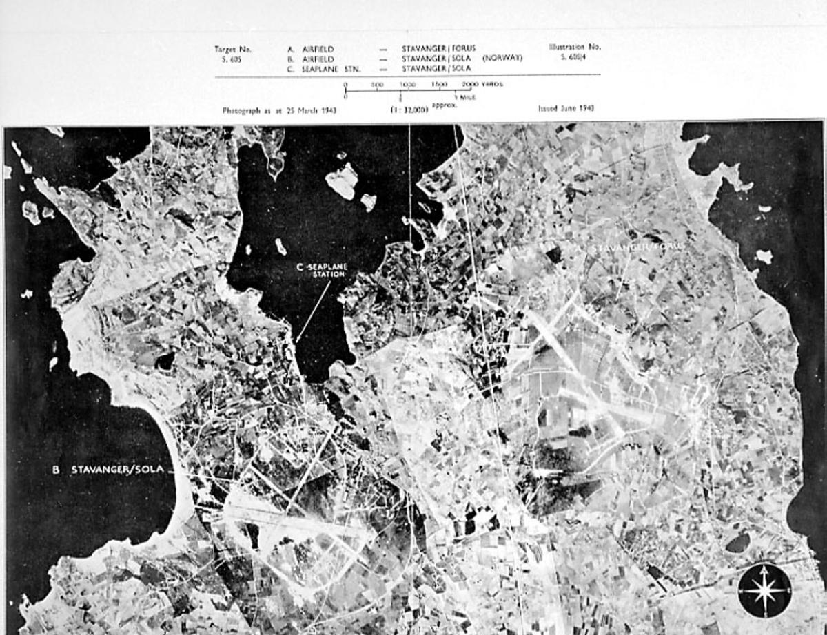 Kart sett fra luften, flyfoto.