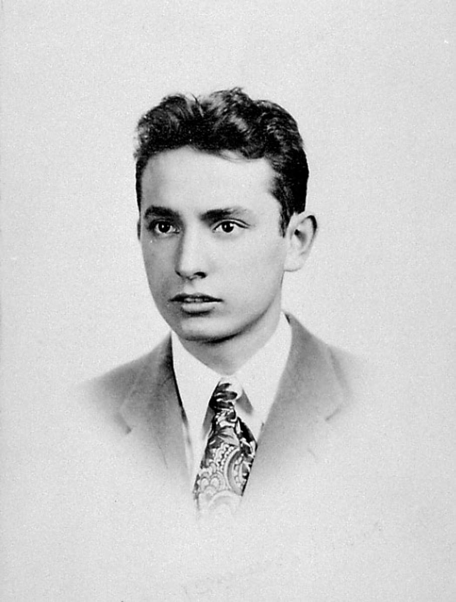 Portrett av ung person.
