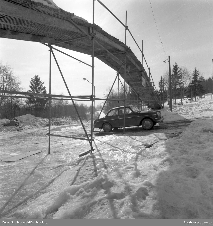 Bo Erngren AB har byggt en brygga vid Gumsekullen i Nolby.