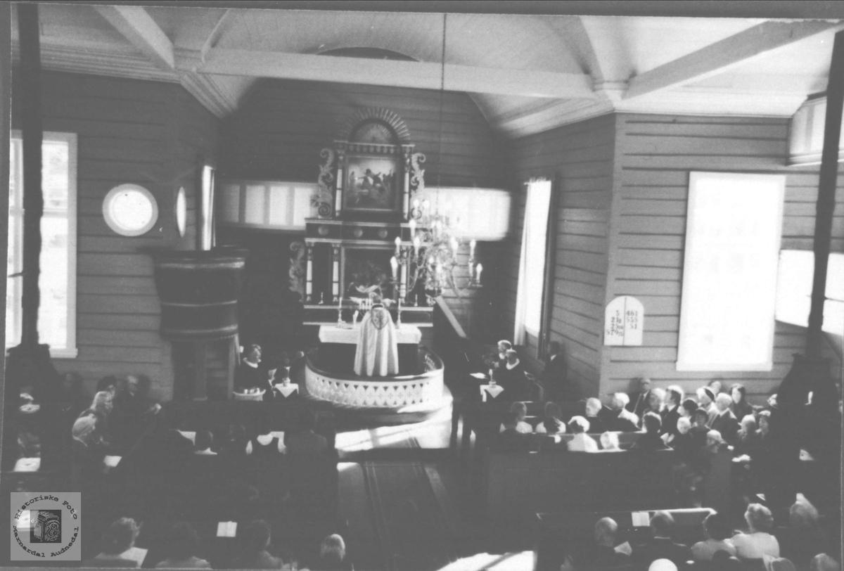 Jubileumsgudstjeneste Laudal kyrkje 150 år.