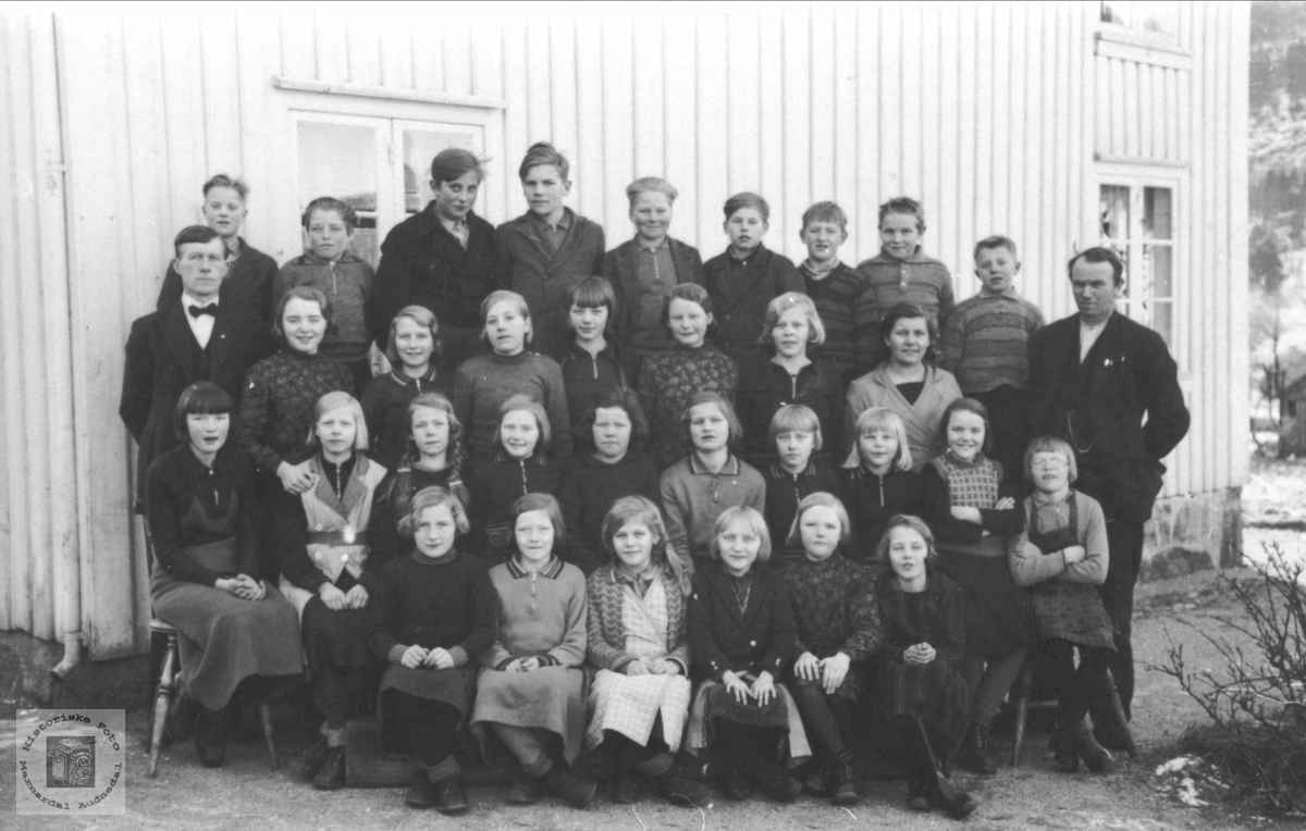 Skolebilde Laudal skole..