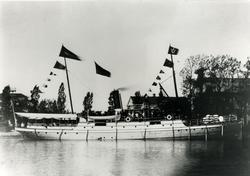 Eskilstuna III i Eskilstuna hamn (1887) Foto från Arne Sund