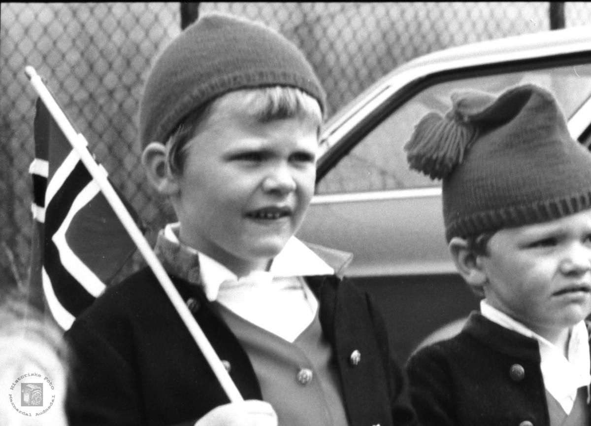 Venner. Svein Olav Aukland og Ktristian Skuland.