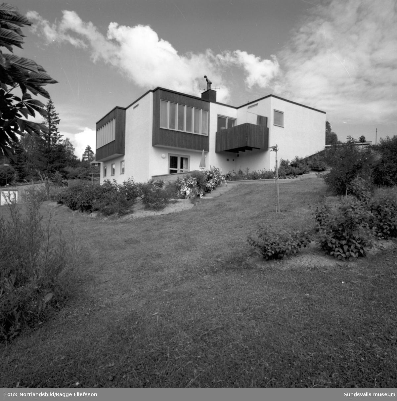 Villa på Rosenvägen 2 vid Västhagen, Norrmalm.