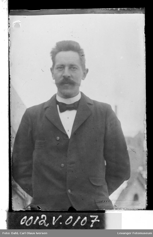 Portrett av Carl O.I. Dahl
