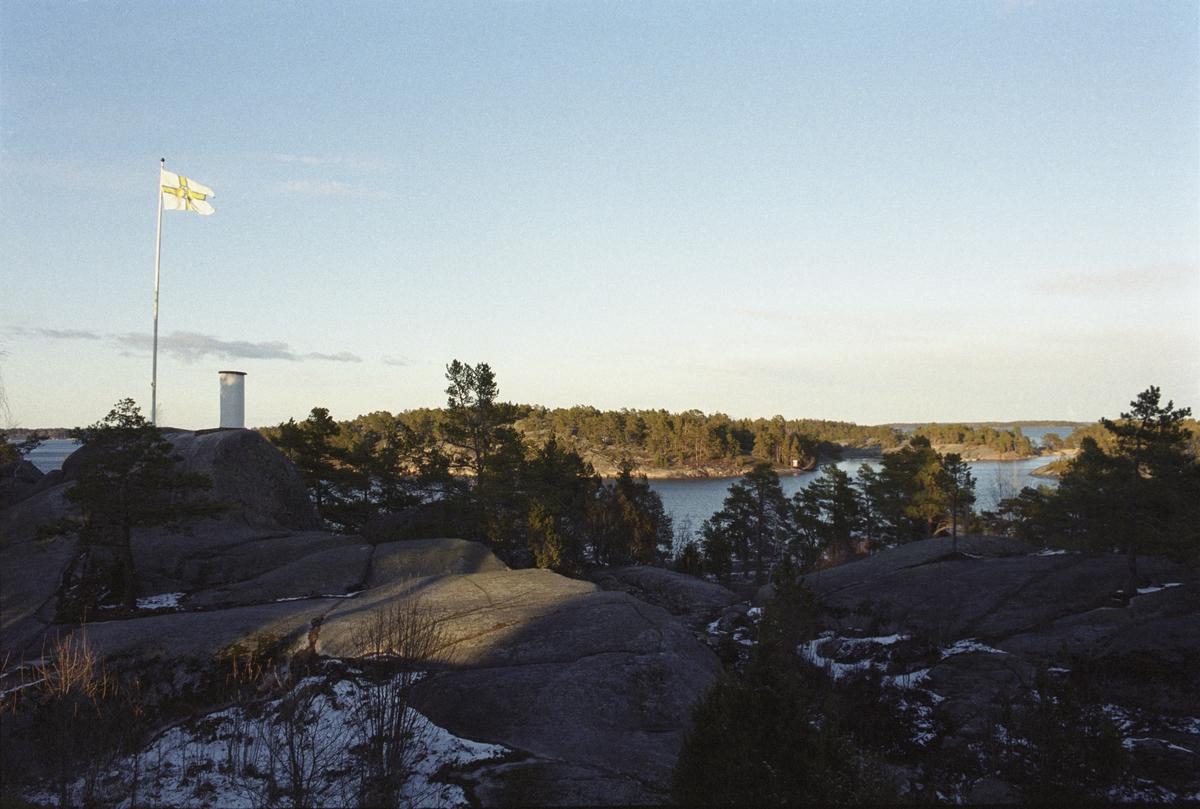 Skärgårdsprojektet 2003-2004 Fotodatum 1-4 april 2003 Utsikt fr. Finnhamns vandrarhem