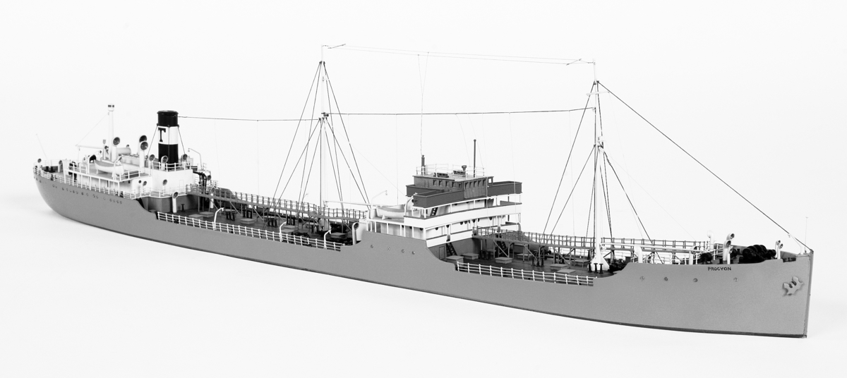 Fartyg: PROCYON                        Bredd över allt 18,83 meter Längd över allt 149,19 meter Maskinstyrka 4400 ind hkr Reg. Nr.: 7797 Rederi: Trelleborgs Ångfartygs Nya AB Byggår: 1932 Varv: Kockums Övrigt: Byggdes på Kockums MV i Malmö och levererades  i februari till Trelleborgs Ångfartygs Nya AB men lades upp direkt pga dåliga konjukturer. Fartyget var på 8614 bruttoton och 5051 nettotons. Maskineriet var om 4400 ind hkrs. Den 31 mars 1933 sattes fartyget i trafik. I januari 1943 ägarbyte då Rederi AB Ericus i Stockholm övertog det. I juni 1943 omnamndes det till Sunnanbris. M/S Sunnanbris såldes i mars 1946 till Agdesidens Rederi A/S i Arendal, Norge och överlämnades till nya ägarna först i september samma år och då namnat till Jomaas. Hon såldes i juni 1951 till Skibs A/S Excelsior i Kristianstad, Norge och namnades till Benmore.  Såldes sedan 1956 till Cia Mara Ltd, Puerto Limon i Costa Rica. Ombyggdes samma år i England till bulkfartyg och erhöll namnaet Doris B. 1958 överfördes fartyget till engelsk flagg med hemma hamn i Nassau och övertogs strax efter av Motorlines Ltd, Nassau med nytt namn påmålat; Bahama. 1960 övertog det Panamaregistrerade rederiet Sincere Navigation Co Inc fartyget som  nu omdöptes till Yamanami. Det såldes 1968 till Tawian för att skrotas och ankom den 8/4 samma år Kaosiung på Tawian på sista resan.  Shipping & shopping