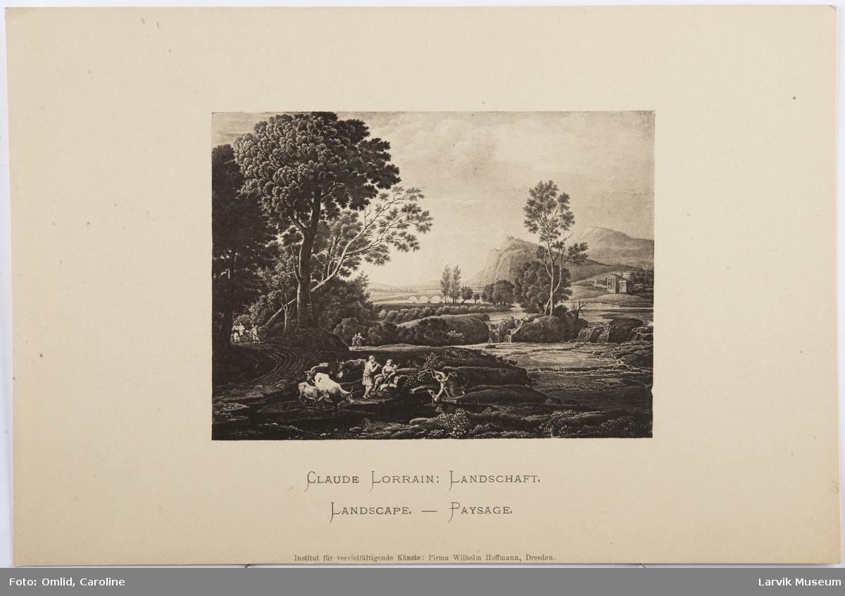 Claude Lorrain: Landschaft.