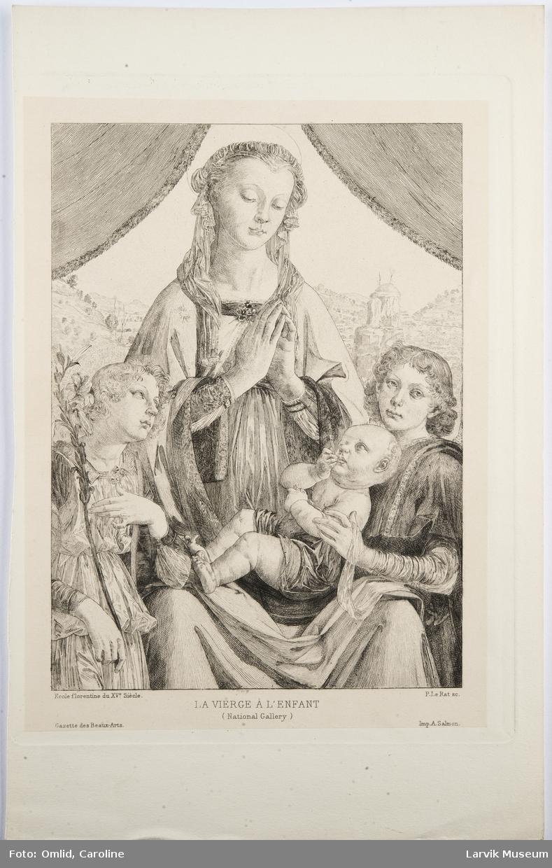 La Vierge l'Enfent