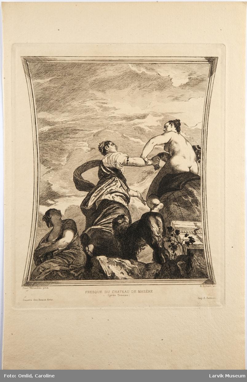 Fresque du Chateau de Masère-