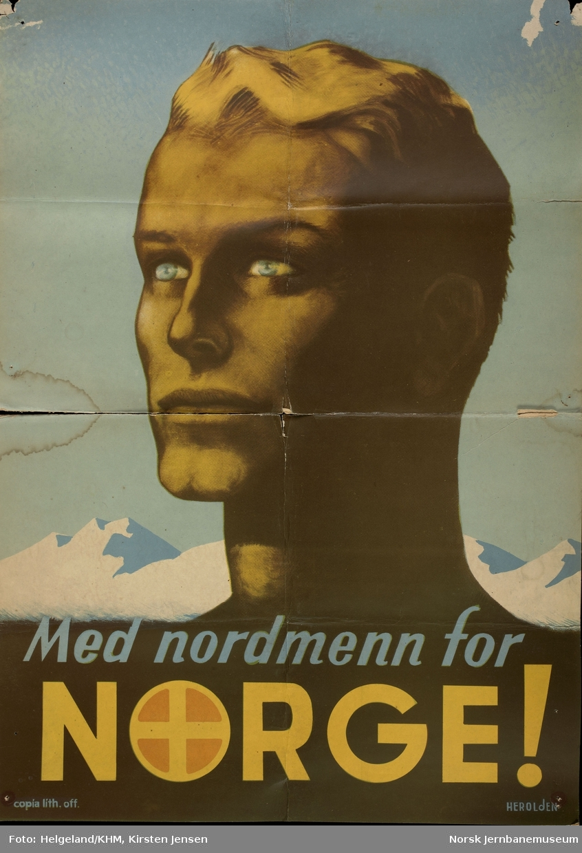 Tekst: Med nordmenn for Norge!