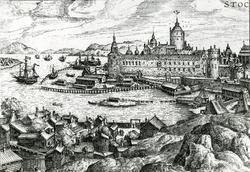"""Stockholm omkring 1580. """"Många och detaljerade upplysningar"""